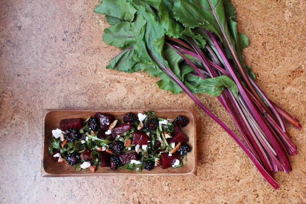 beet salad (prose)
