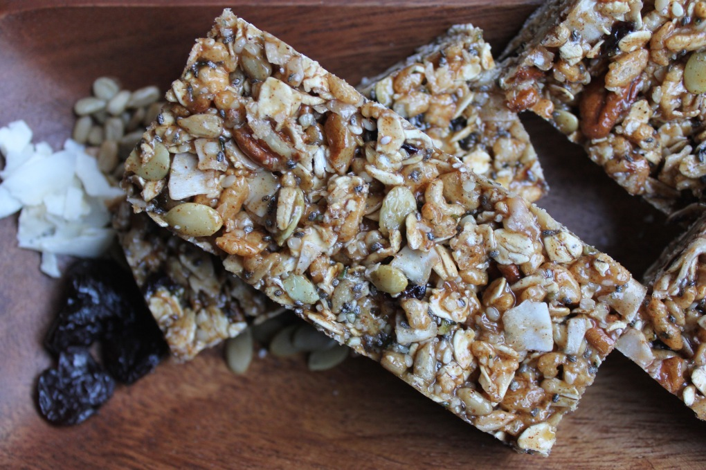 The Kitchen Beet - Seedy Granola Bar