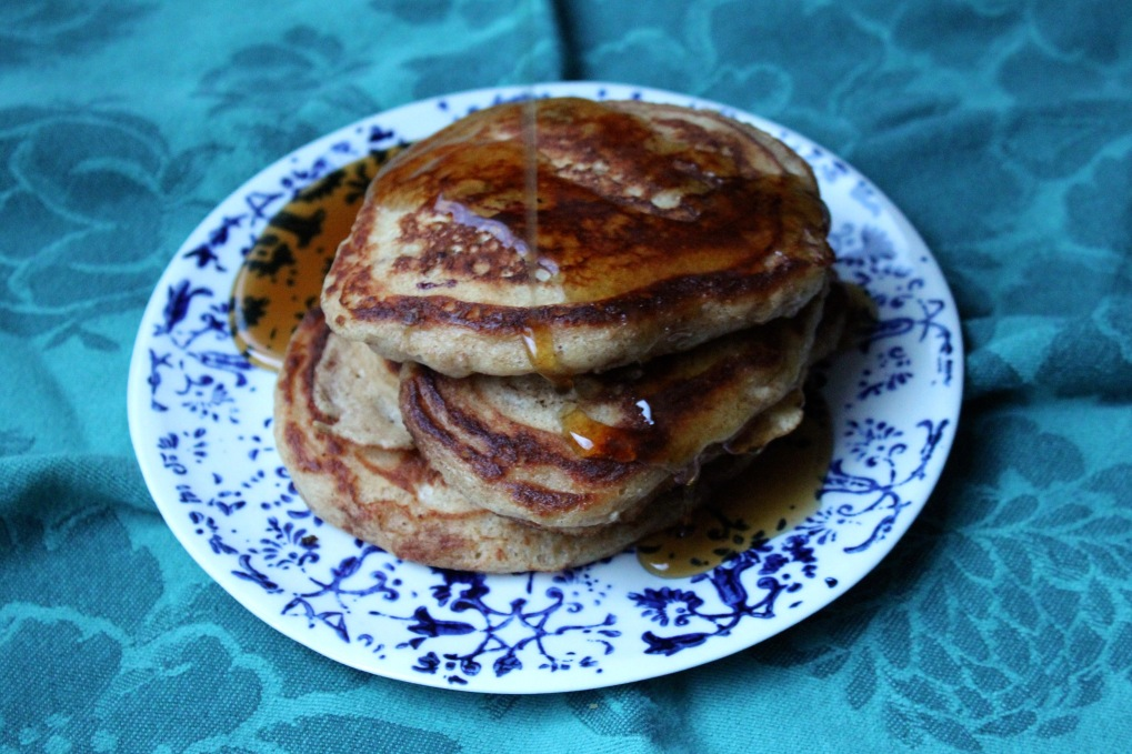The Kitchen Beet - Whole Wheat Pancakes