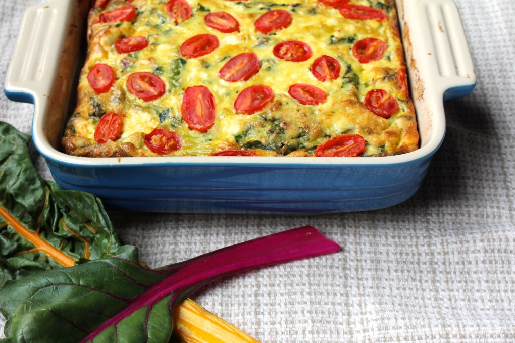 TKB - frittata with chard, zoom