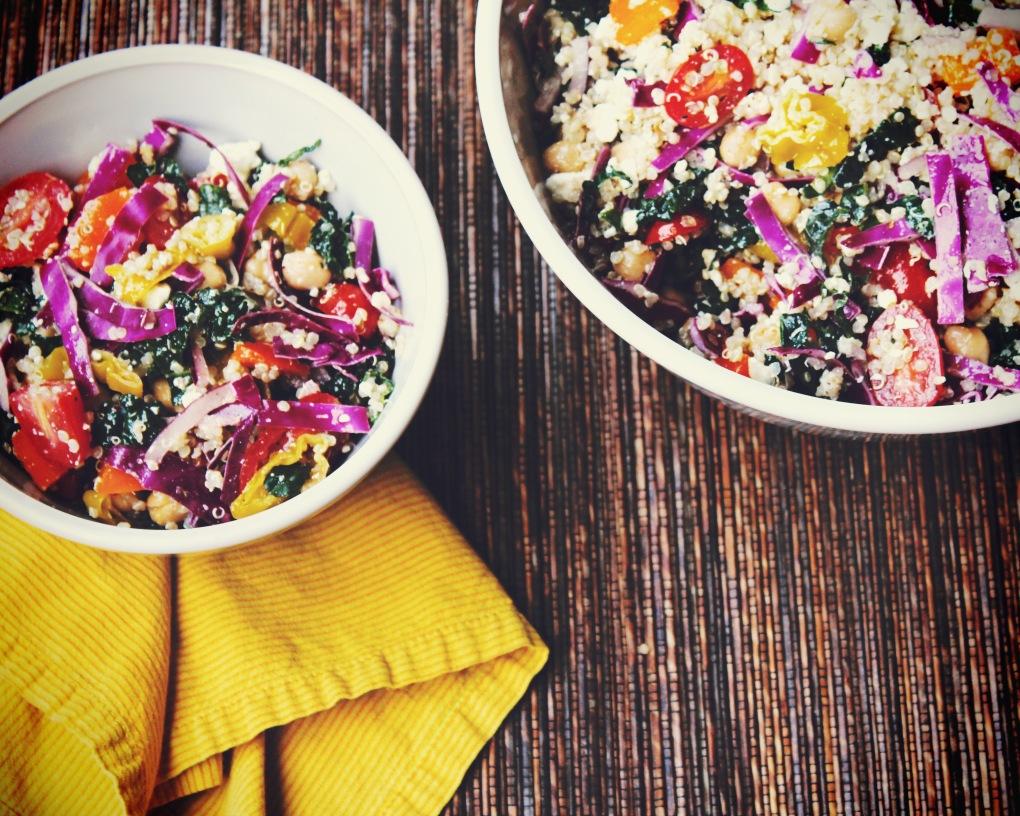 TKB - Kale-Quinoa Salad