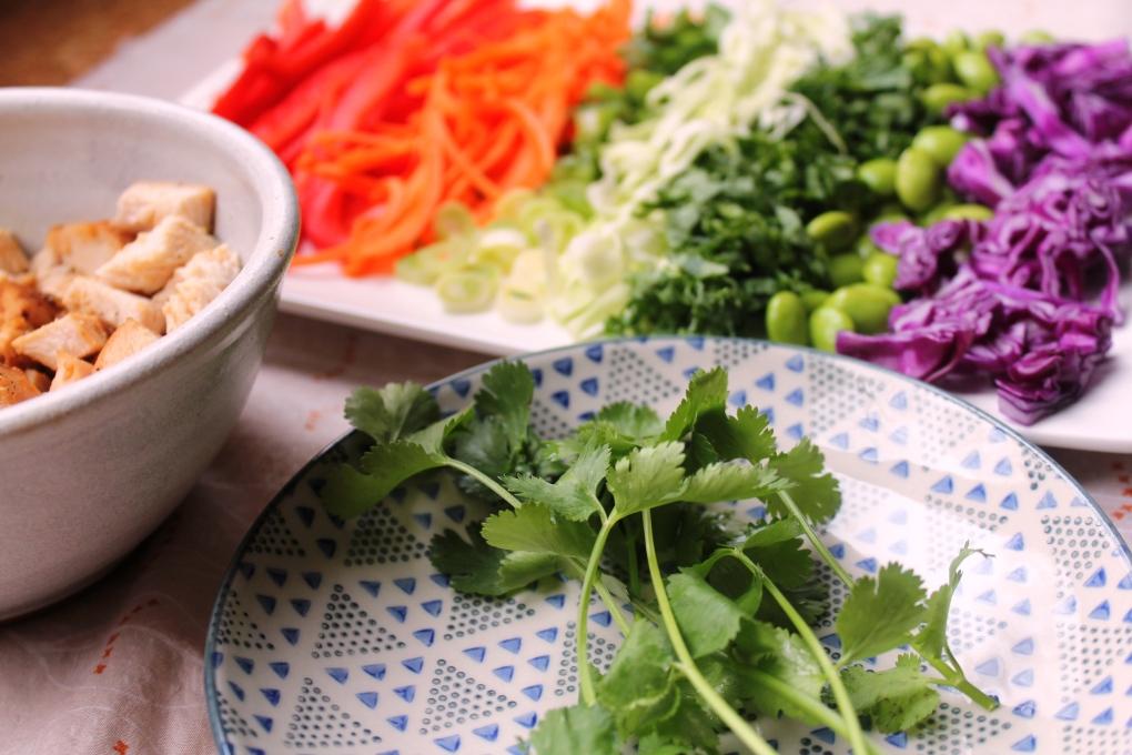 TKB - Deconstructed Rainbow Salad (side)