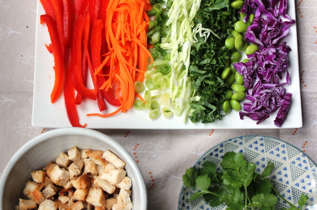 TKB - Deconstructed Rainbow Salad